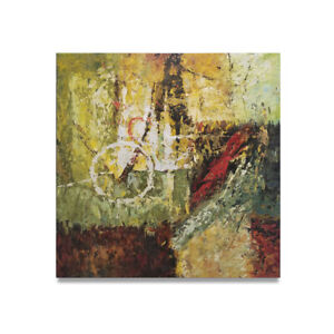 HUNGRYARTIST - contemporary modern abstract original oil painting on canvas #25