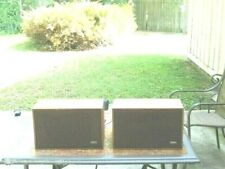 Two Vintage 9 ohm Ampex 6''x 9'' Wide Range Speaker System In good Condition.