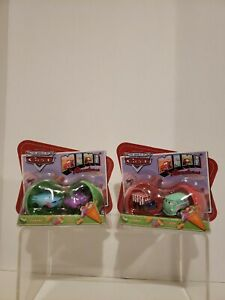 Disney Pixar World of Cars MINI Holiday Special Sarge,Fillmore,FLO,RAMONE Lot x2
