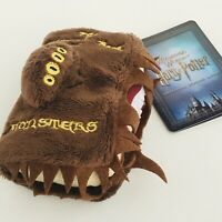 "Harry Potter 4"" Monster Book of Monsters Plush Keychain UNIVERSAL STUDIOS JAPAN"