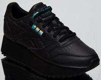 Reebok x Gigi Hadid Women's Classic Leather Double Black Lifestyle Shoes DV5392