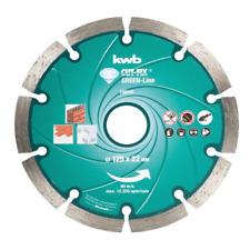 Disque à tronçonner diamant KWB Green Line 125x22 mm pour ponceuse polyvalente p