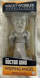 DOCTOR WHO WEEPING ANGEL - WACKY-WOBBLER - BOBBLE HEAD BY FUNKO **FREE POSTAGE**