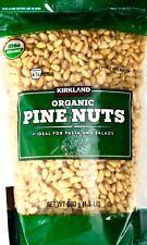 Kirkland Signature 100% Organic USDA Pine Nuts Resealable, 2 Bags, 3 Pounds