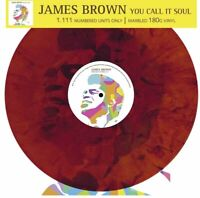 YOU CALL IT SOUL by JAMES BROWN  3583 ltd numbered colour vinyl lp