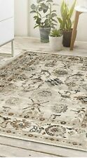 Origins AnatoliaTraditional Turkish Bohemian Style Woven Rug Beige 3 Sizes New