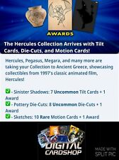 Topps Disney Collect HERCULES COLLECTION Sinister Pottery & Sketches 25 Card Set