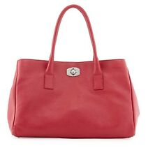 Fuchsia Pink Furla Appaloosa Leather Tote