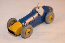 Dinky Toys 234 Ferrari racing car with yellow metal hubs very nice model     *8*