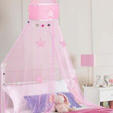 Bed Canopy Star Design Pink For Girls By Beamfeature NEW