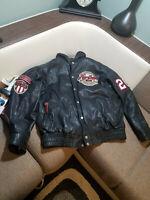 Baseball Jacket  Leather mans