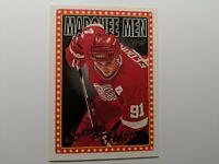1995-96 Topps Red Wings Hockey Card #373 Sergei Fedorov