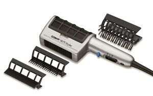 Conair 1875 Watt 3-in-1 Styling Hair Dryer and 3 Attachments