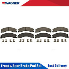 Front&Rear Wagner Disc Brake Pads Set For CHEVROLET SILVERADO 2500 HD 2011-2016