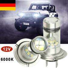 H7 980W 40000LM Auto LED Nebel Scheinwerfer Birnen Kit Lampen COB Kit 6000K DE