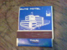 Elite Hotel Thun Restaurant Sadel Bernstrasse matchbooks