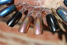 Duochrome Holographic Spectraflair Top Coat Polish - 13 ml. Copper Rose