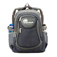 "PICKLEBALL MARKETPLACE ""All-In-1"" Backpack - New - Slate Blue & Grey"