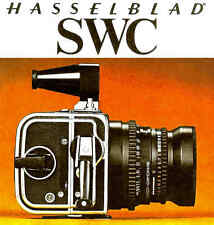 HASSELBLAD SWC CAMERA BROCHURE -HASSELBLAD SWC--from 1977--HASSELBLAD