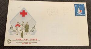 1963 Centenary Red Cross Australian FDC WCS Wesley Darwin NT