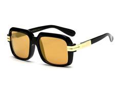 Run Dmc Sunglasses Square Lens Vintage Hip Hop Retro Old School Style Glasses