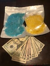Real money Bath salts 7 ounce bag with real cash inside the bag assorted scents