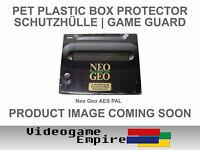 1x Schutzhülle 0,4mm PET für SNK NeoGeo Neo Geo Konsole OVP Hülle Box Protector