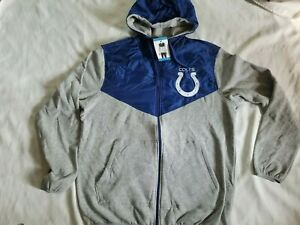 Indianapolis Colts G-III Sports Men's Full Zip Hoodie Sweatshirt, M or L, NWT