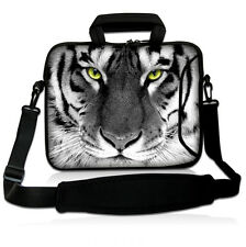 "17"" Tiger Face Laptop Netbook Shoulder Bag Case For 17.3"" HP Pavilion G7 DV7 E17"