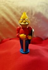 The Simpsons 1992 3D Replacement Chess Piece Red/Blue Grandpa