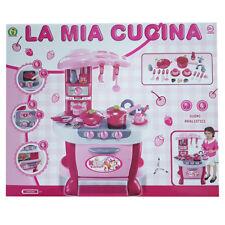 La Mia Cucina per bambina bimba pentole suoni accessori 31pz altezza 73cm 3+