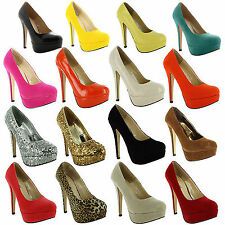 Unbranded Faux Suede Stiletto Casual Shoes for Women