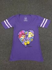 Angry Birds - Distressed Short Sleeve Low-neck T-Shirt Junior Women Size Small