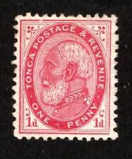 Tonga ~ Scott #1 ~ Mint No Gum ~ 1887 Issue ~ MNG