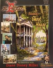 E TICKET #41: Disneyland Fanzine HAUNTED MANSION Ghost House DIANE DISNEY MILLER