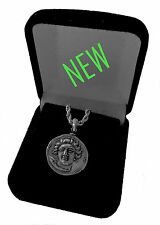 Larissa, Nymph of Thessaly Coin Pendant w Chain, Small Size, (#79-PenChain-S)