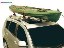 Malone SaddleUp Pro MPG110MD 4 Piece Saddle Style Kayak Carrier Boat Roof Rack