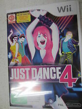 Just Dance 4 Nintendo Wii PAL Version