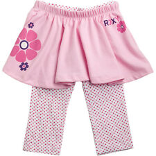 ROXY KIDS  BOTTOMS MEDIUM BAKE A CAKE PINK LEGGINGS