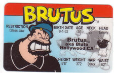 foe Brutus aka Bluto aka the Bearded Bully of Popeye fun Halloween Costume gear