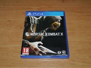 Mortal Kombat X Game for Sony PS4 Playstation 4