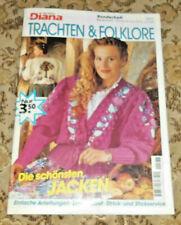Die kleine Diana von 1994 Trachten & Folklore Trachtenjacken stricken Strickheft
