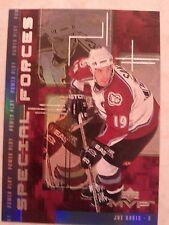 1998-99 UD Upper Deck MVP Special Forces Joe Sakic Card F15 Nice Set