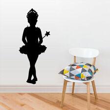 Wall Decal Vinyl Sticker Nursery Kids Baby Silhouette Magic Fairy Stars (Z2756)
