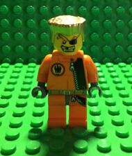 Lego Agents Minifigure Gold Tooth 8630/8967