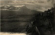 CPA    Embrun - Vue de la pisine de dessous le Roc avec la vallée de la (453490)