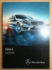 original Mercedes Benz Usuarios Funcionamiento instrucciones Clase S W222 franz