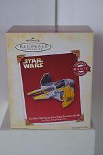 Hallmark Star Wars Anakin Skywalker's Jedi Starfighter (Magic sound) Nib