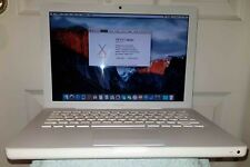 "Apple MacBook A1181, 13.3"" OSx ElCapitan 2GHz 4GB RAM 160GB HDD 2009 msoffice"