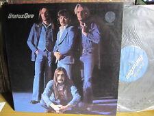 """STATUS QUO BLUE FOR YOU VINYL LP RECORD 12"""" GATEFOLD w/INNER"""